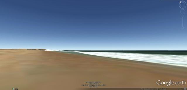spiaggia keta da google earth
