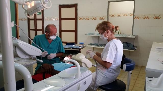 Luca e Adelia (Svizzera) - professionisti, volontari nell'ospedale dei Comboniani a Sogakope, Volta Region.