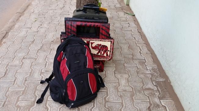 traveling...
