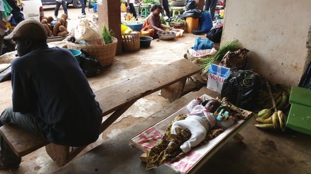 Foto di ©Antonella Sinopoli. Mercato Mampong - Ashanti Region