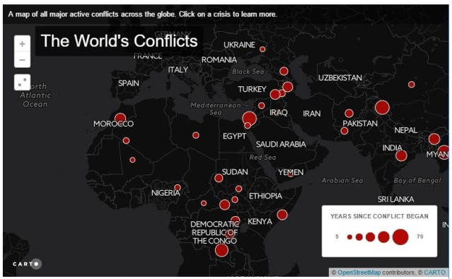 IRIN UPDATED Mapped a world at war