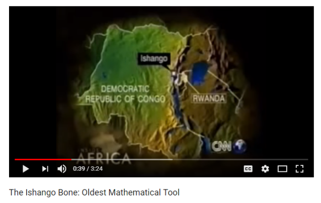 1 The Ishango Bone Oldest Mathematical Tool YouTube