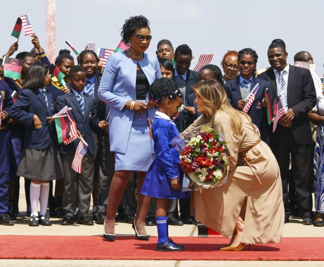 Melania-Trump-Visits-School-In-Malawi-Part-Of-Africa-Tour
